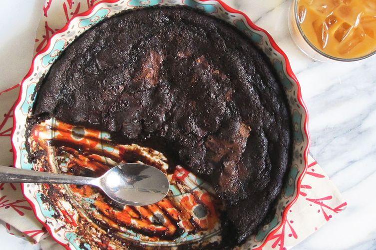 Shiraz Chocolate Lava Pudding