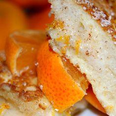 Mascarpone Stuffed French Toast Fritters