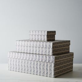 Tweed Nesting Boxes (Set of 3)
