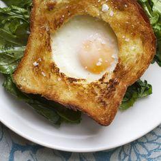 Eggs in Vinaigrette Toast