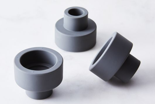 Modern 2-in-1 Silicone Candle Holder Trio