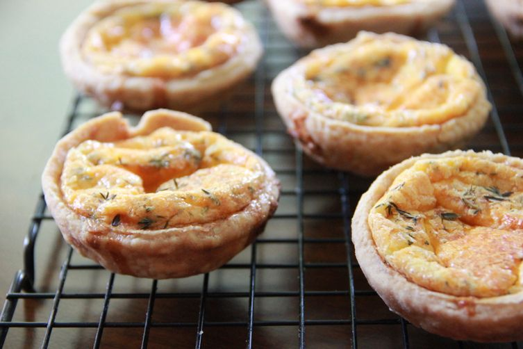 Smoky Cheddar Cheese Pies