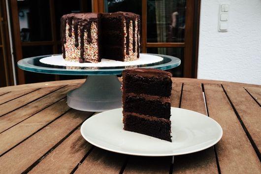 Chocolate Quark Cake