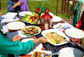 Liyna and Anum's Big Feast: A Feast Fit for Moms