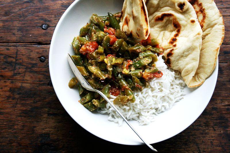 Masaledar Sem (Spicy Green Beans)