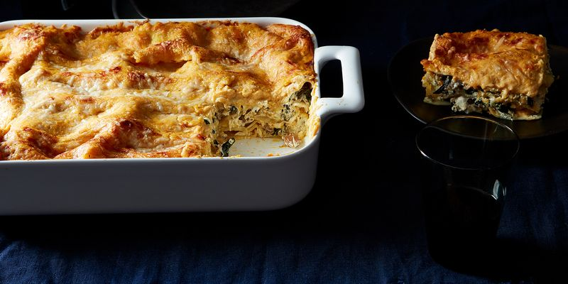 Lasagna with pumpkin béchamel or butternut squash brown rice porridge?