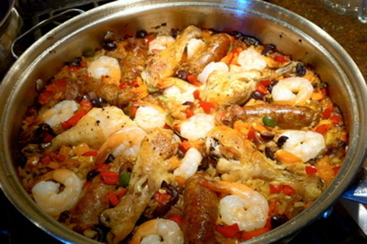 Triple Surprise Paella