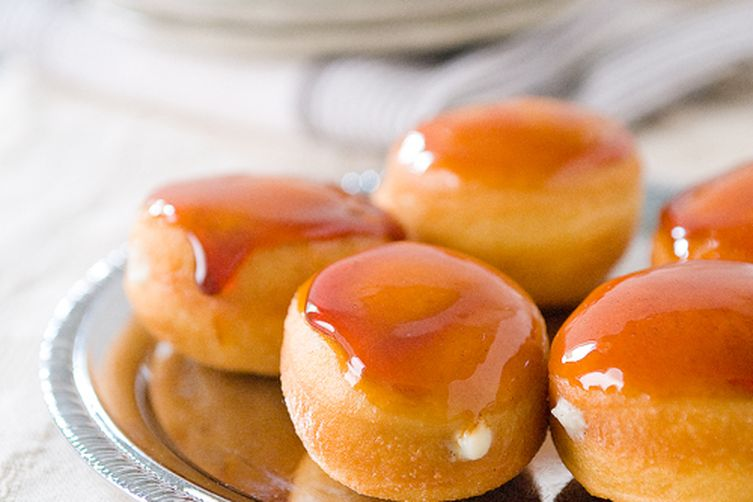 Mini Crème Brûlée Doughnuts