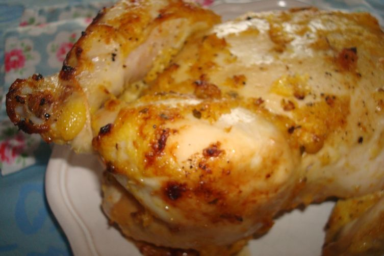 The Alchemist's Chicken (Chicken Roasted with Seville Oranges, Onions and Bay)