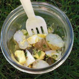Italian-Style Potato Salad with Garlic, Lemon and Olive Oil