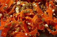 Carrot, Lentil, and Feta Salad