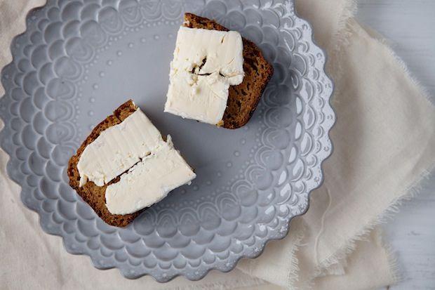 Pumpkin Bread wih Brie