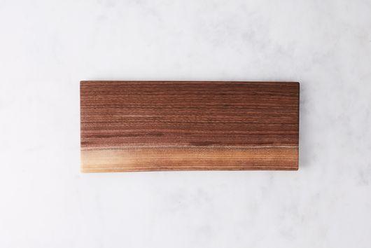 Handcrafted Walnut Live Edge Cutting Board