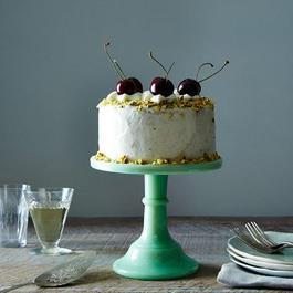 Miniature Jadeite Cake Plate