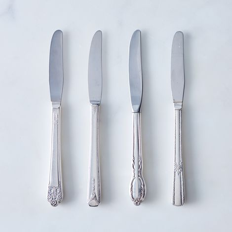 Vintage Grille Knives (Set of 4)