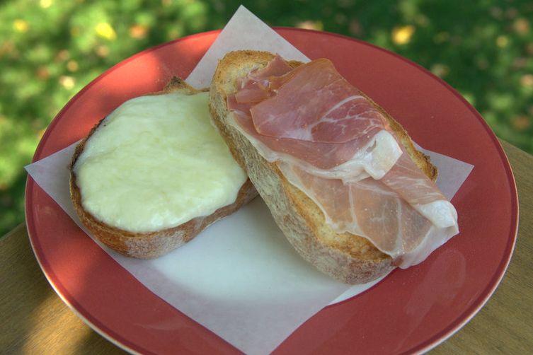 Incredible Italian Ham and Cheese Sandwich