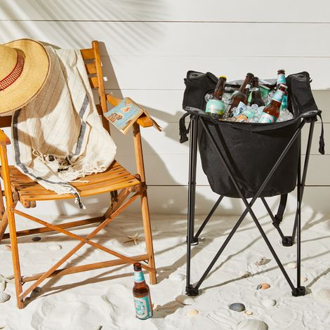 Fold-Up Portable Cooler