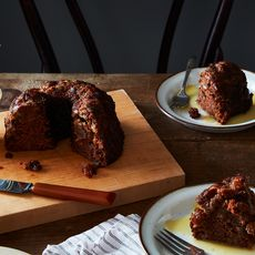 California Persimmon Pudding