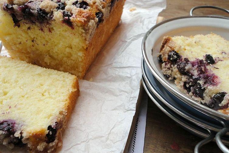 Lemon Blueberry Crumb Loaf