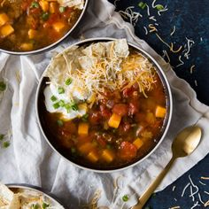 Sweet Potato Taco Soup