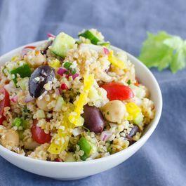Mediterranean Cracked Wheat Salad