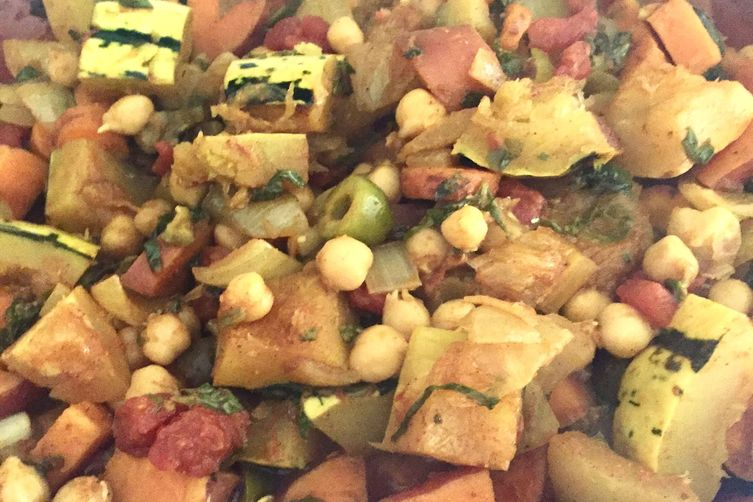 Chickpea and Fall Vegetable Tagine