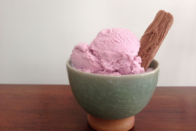Purple Sweet Potato Vanilla Bean Ice Cream Recipe on Food52
