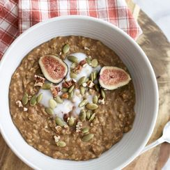 Toasted Pecan and Pumpkin Porridge