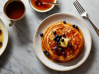 Multigrain Pancakes That Can Transform Into Fluffy Waffles on a Dime