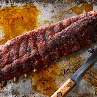 Baby Back Ribs With Magic Spice Blend