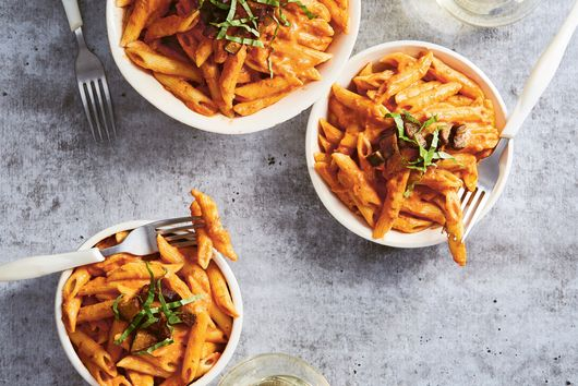 Vegan Penne Vodka