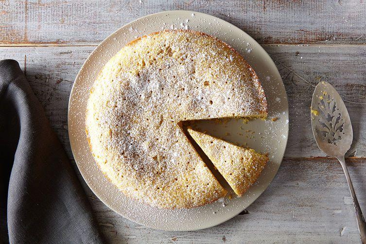 Lavender Polenta Cake