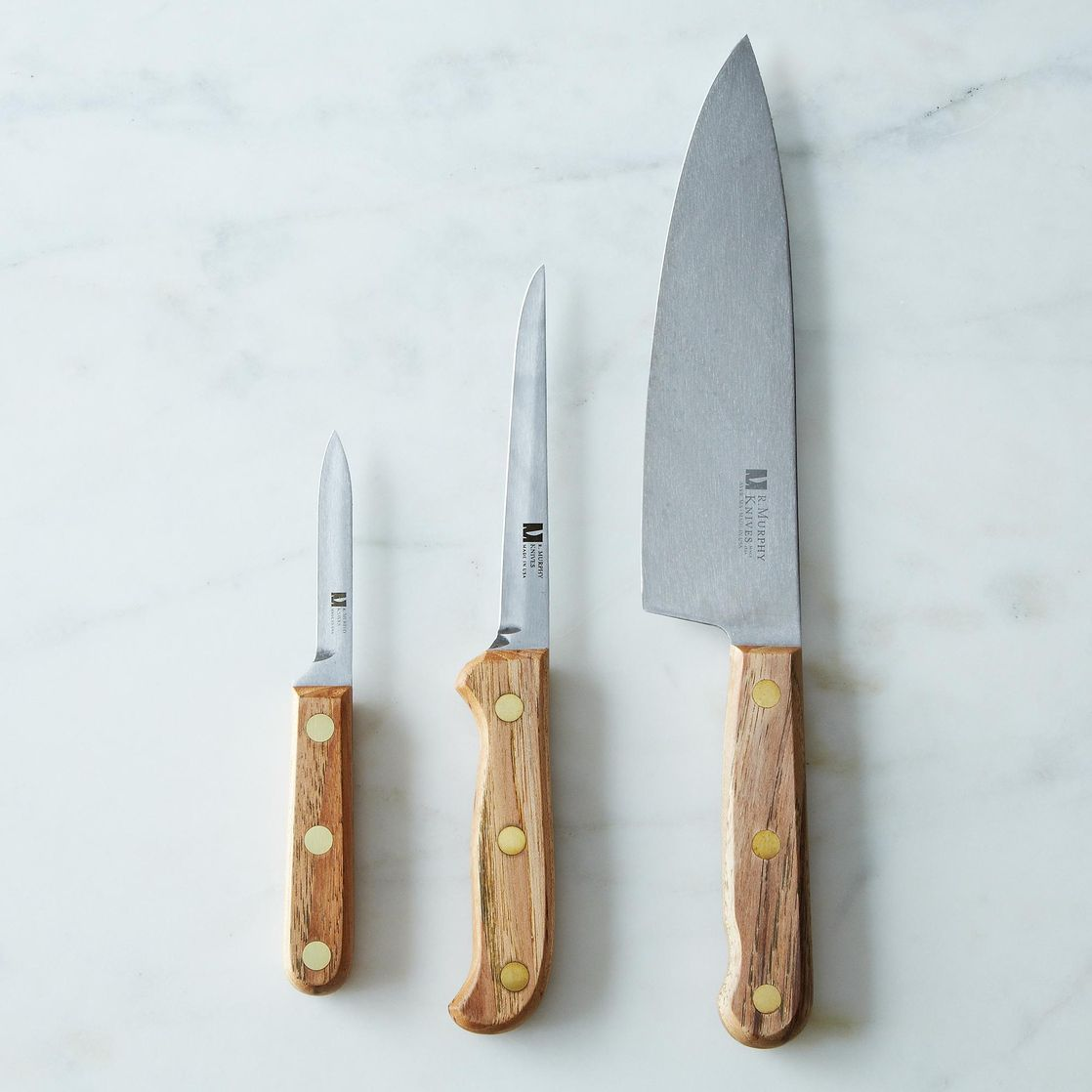 R. Murphy Reclaimed Wood Carbon Steel Knife on Food52