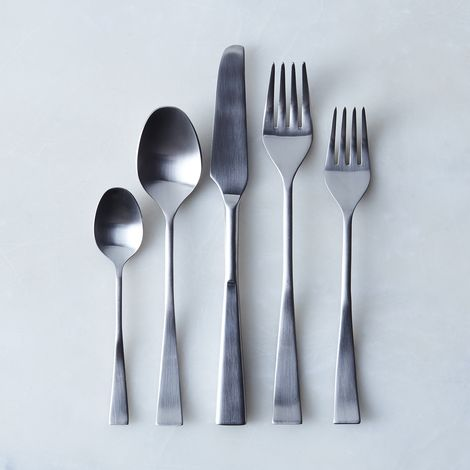 Italian Flatware, Italia Ice (5-Piece Flatware Place Setting)
