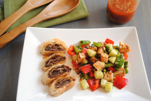Gazpacho Chopped Salad