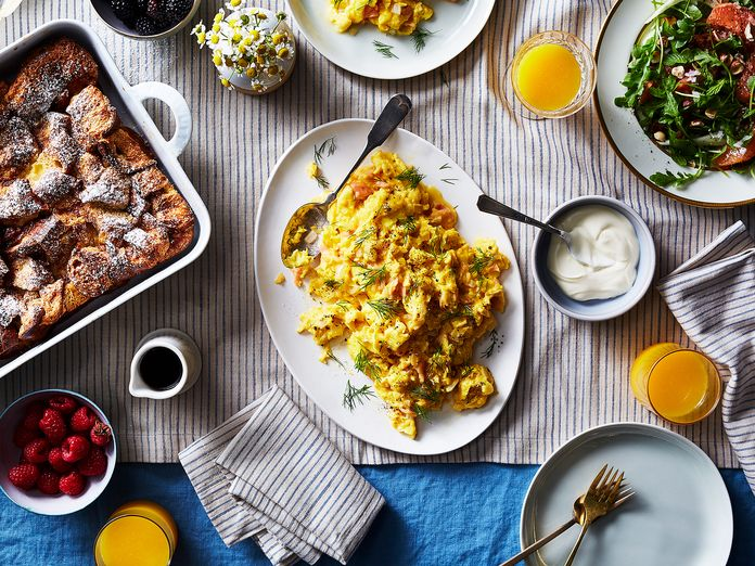 The Jewish Deli–Inspired Breakfast Spread of Our Dreams
