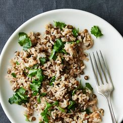 Dinner Tonight: Lentil and Basmati Salad