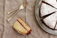 Buckwheat and Apple Cake (Schwarzplententorte)