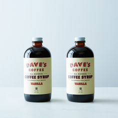 Vanilla Coffee Syrup (2 Bottles)