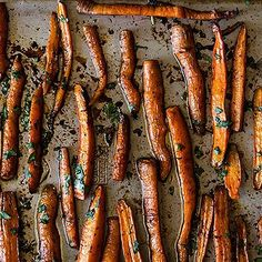 Pomegranate Roasted Carrots