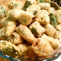 Simplest Fried Okra