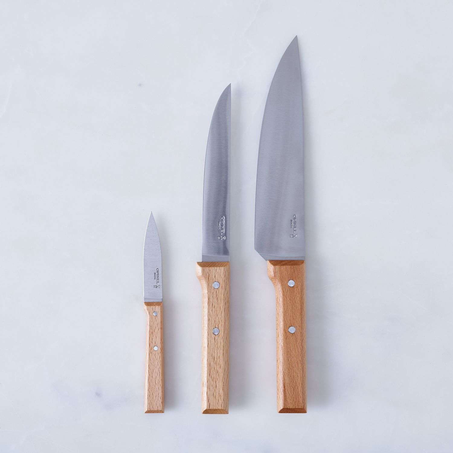 Opinel Kitchen Knives (Set of 3) on Food52