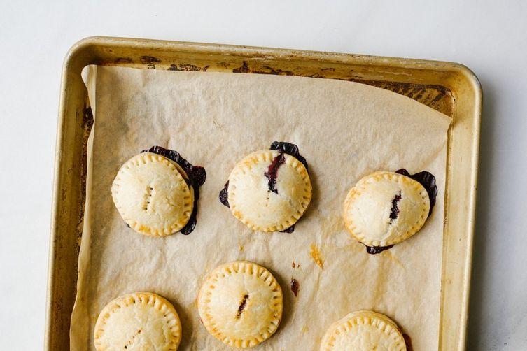 Blueberry Lemon Pop-Tarts
