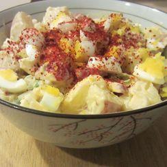 Mom's potato salad with a twist (of lemon)