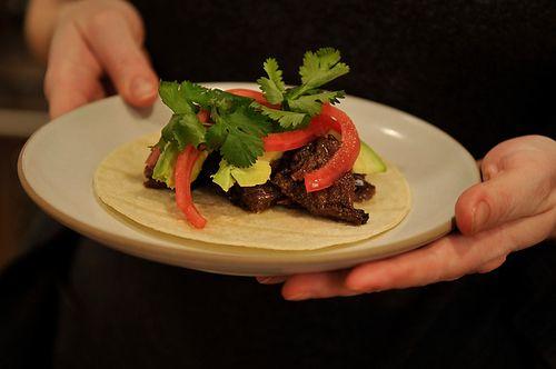 Barbacoa Beef Cheek Tacos