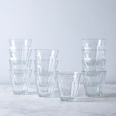 French Picardie Tumblers (Set of 12)