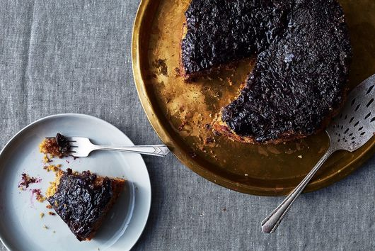 Concord Grape Upside-Down Cake