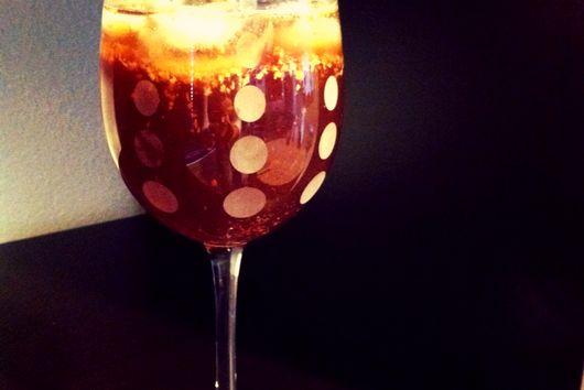 Sparkling Ginger-Apple Spritzer