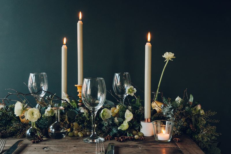 This Year, Make a Garland of Flowers to Spill Across Your Table