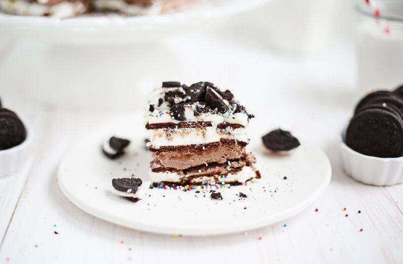 Easiest Ice Cream Cake